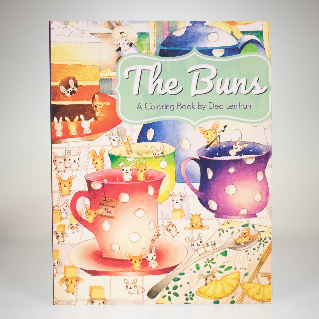 The BUNS Coloring Book (Dea Lenihan) - BinkyBunny.com House Rabbit Store