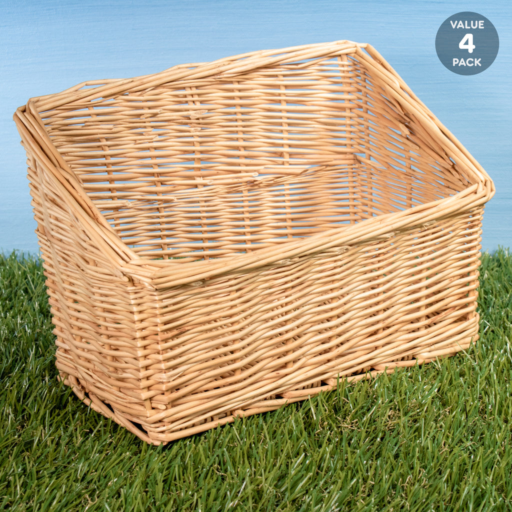 Willow Hay Rack (Peeled) - 4 PACK - BinkyBunny.com House Rabbit Store