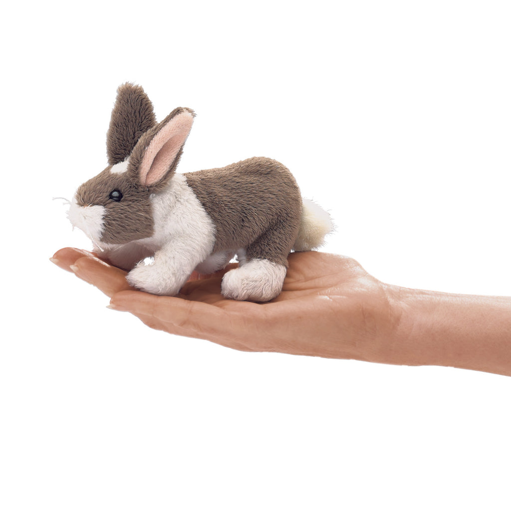 Finger Puppet - Mini Dutch Rabbit - BinkyBunny.com House Rabbit Store