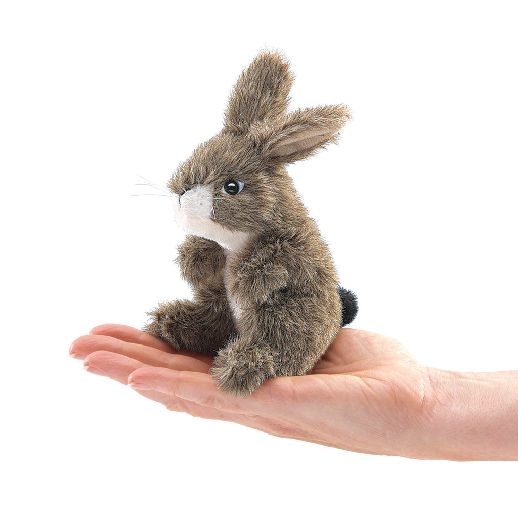 Finger Puppet - Jack Rabbit - BinkyBunny.com House Rabbit Store