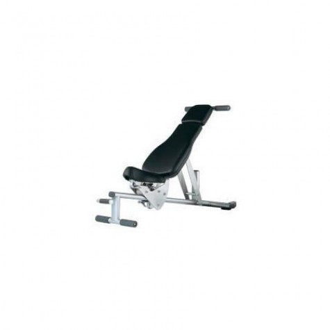 Life Fitness Adjustable Bench - GymCrib