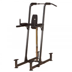 Body-Solid Fusion Light Commercial Vertical Knee Raise/Dip/Pull-Up Station - GymCrib