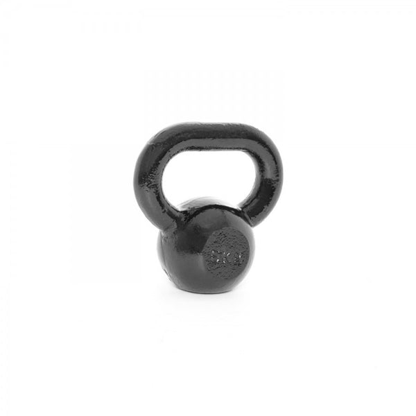 Body Power 6kg Cast Iron Kettle Bell (x1) - GymCrib