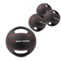 Body Power Double Grip Medicine Ball (Choose from 5) - GymCrib