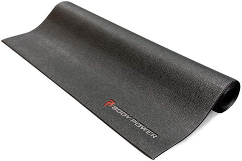 Search Store Icon Where can I try this product out? Enter Full Postcode   Body Power 3ft x 7.5ft Floor Protector Mat - GymCrib