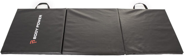 Body Power Tri Fold Fitness Mat - GymCrib
