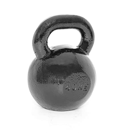 Body Power 40kg Cast Iron Kettlebell (x1) - GymCrib