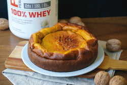 PUMPKIN AND CHEESE CAKE WITHOUT SUGAR