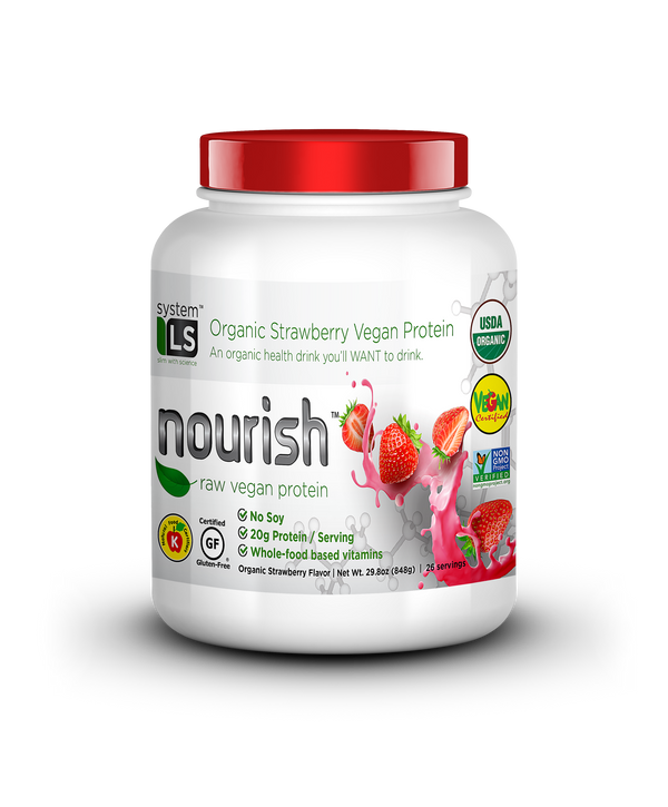 SYSTEMLS™ NOURISH RAW VEGAN STRAWBERRY (5019737424007)