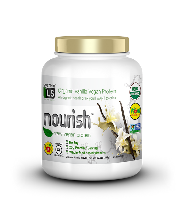 SYSTEMLS™ NOURISH RAW VEGAN VANILLA (5019753775239)