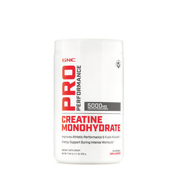 GNC PRO PERFORMANCE® CREATINE MONOHYDRATE