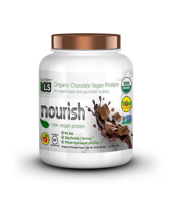 SYSTEMLS™ NOURISH RAW VEGAN CHOCOLATE (5019727954055)