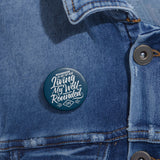 Well-Rounded Life Button-Navy