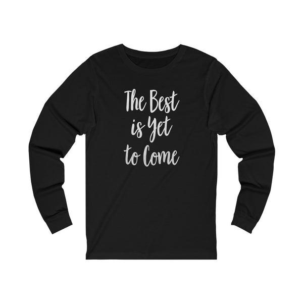 Unisex Best Jersey Long Sleeve Tee-Dark