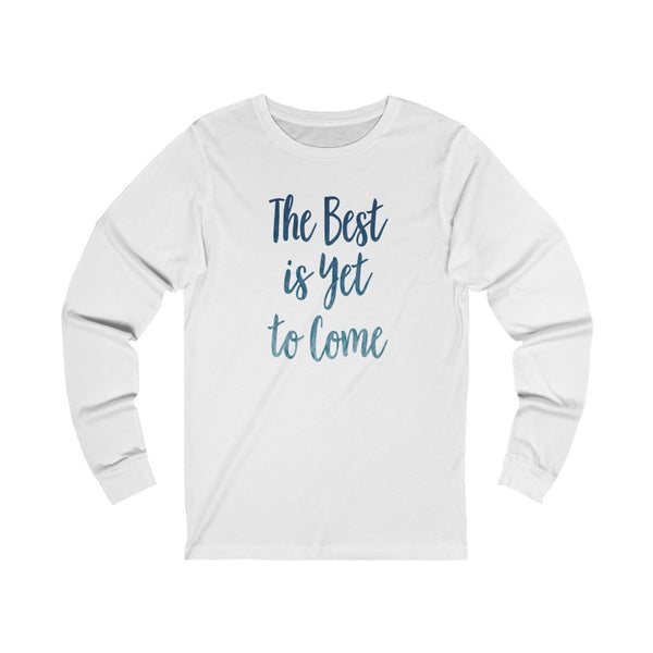 Unisex Best Jersey Long Sleeve Tee
