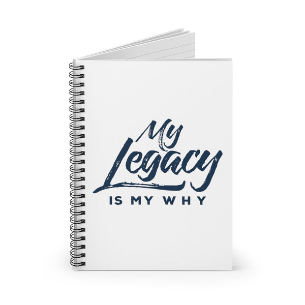 Legacy Spiral Notebook - Ruled Line
