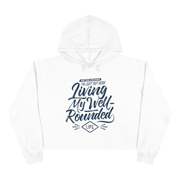 Crop Well-Rounded Hoodie