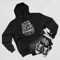 Unisex Premium Well-Rounded Pullover Hoodie-Dark