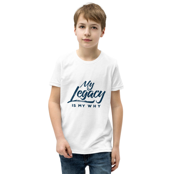 Youth Short Sleeve Legacy T-Shirt White
