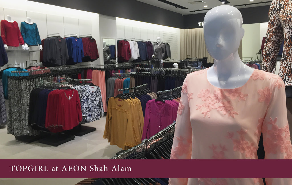 Plus Size Blouse at TOPGIRL Shah Alam Outlet