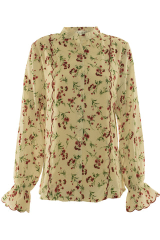 Summer Floral Blouse