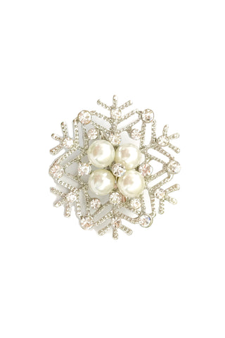 Fashion Snowflake Brooch