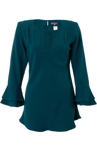 Double Bell Sleeve Blouse