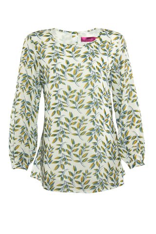 Wild Leaves Blouse
