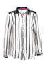 Striped Soft Chiffon Shirt
