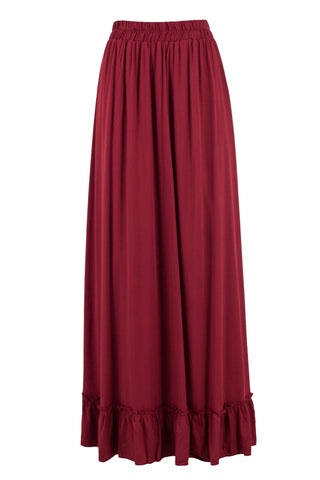 Maroon Layer Skirt