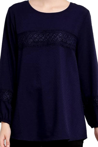 Premium Lace Sleeve Blouse