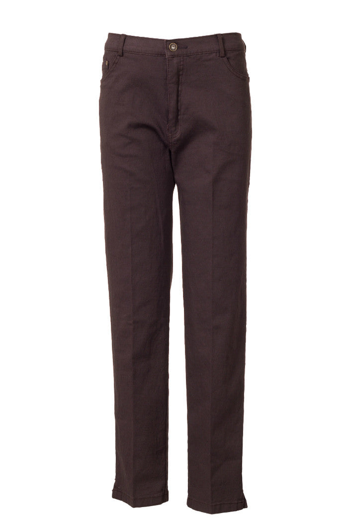 Stretchable Pant With Zipper And Pocket