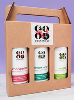 Good Cocktail Co. Gift packs have arrived!