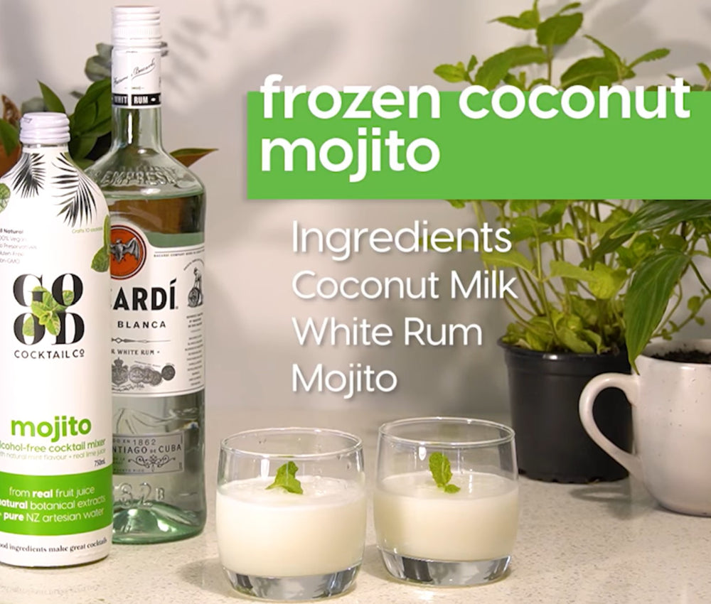 Give a warm welcome to our Good Cocktail Co Frozen Mojito