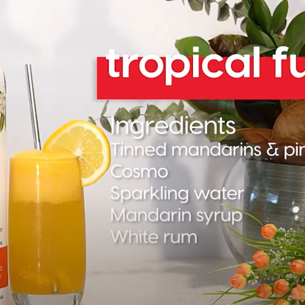 A bit of sunshine on a rainy day with a dose of Good Cocktail's Tropical Fun
