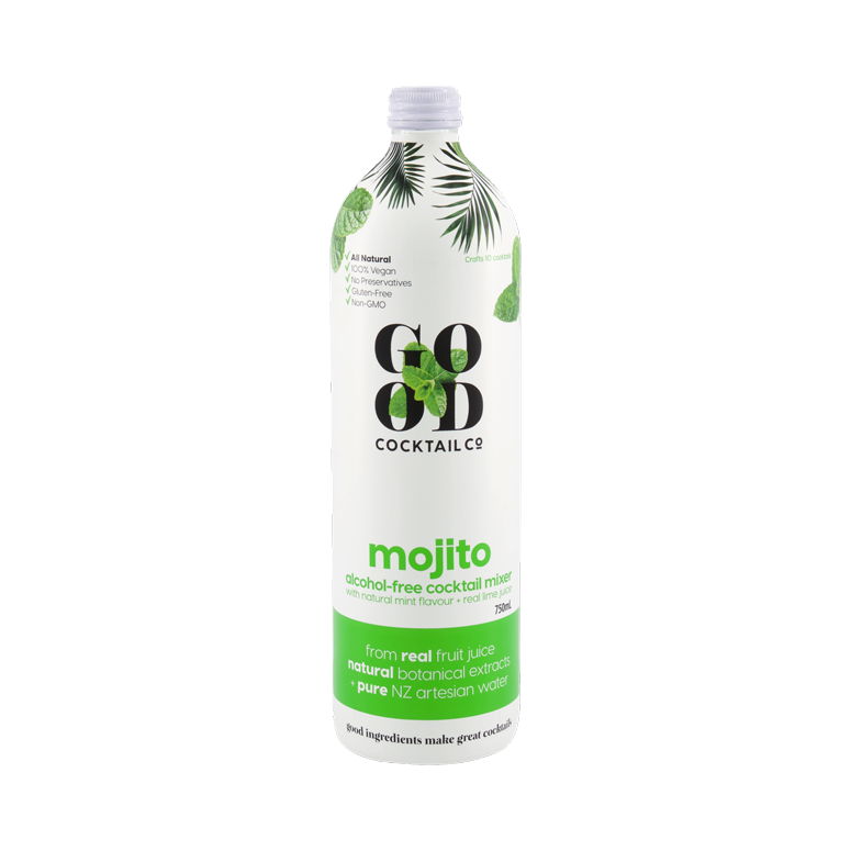 Load image into Gallery viewer, Mojito with real lime juice + natural mint flavour