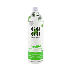 Mojito with real lime juice + natural mint flavour