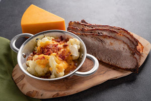 Slow cooked Beef Brisket served with Bacon and Cheddar Cauliflower - FRZN