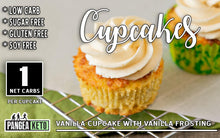 Load image into Gallery viewer, Cupcake, Vanilla with Vanilla Frosting (2 Pack)