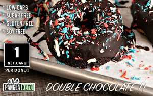Donut, Double Chocolate  (6 Donuts) ** DAIRY FREE **