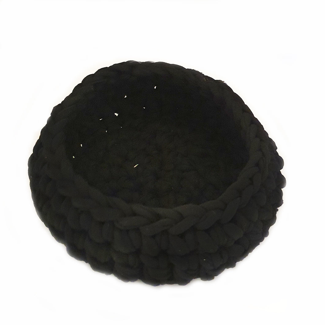 Small Black Homewares Basket