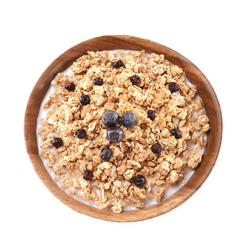 Granola with Milk & Blueberries - #10 Can