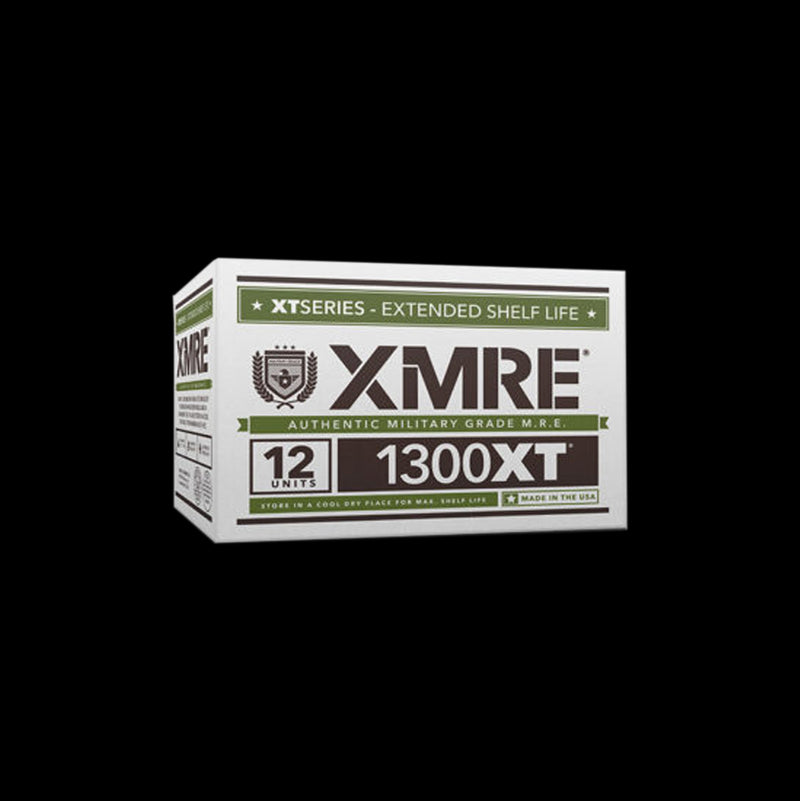 XMRE 1300XT - CASE OF 12 FRH - 12 MENUS