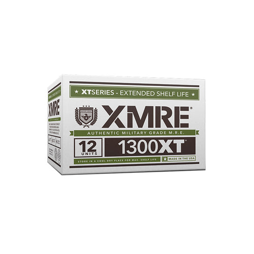 XMRE 1300XT - CASE OF 12 FRH - 6 MENUS