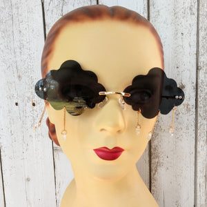 Happy Rainy Cloud Sunglasses (black)