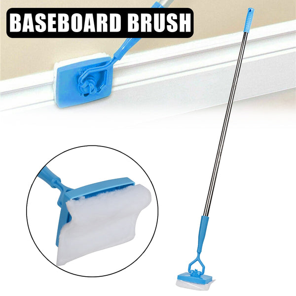 360 DEGREE BASEBOARD MOP - JUST WALK AND GLIDE!