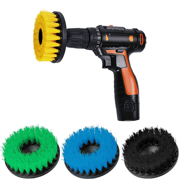 5 Wheel Brush Power Scrubber Drill Set