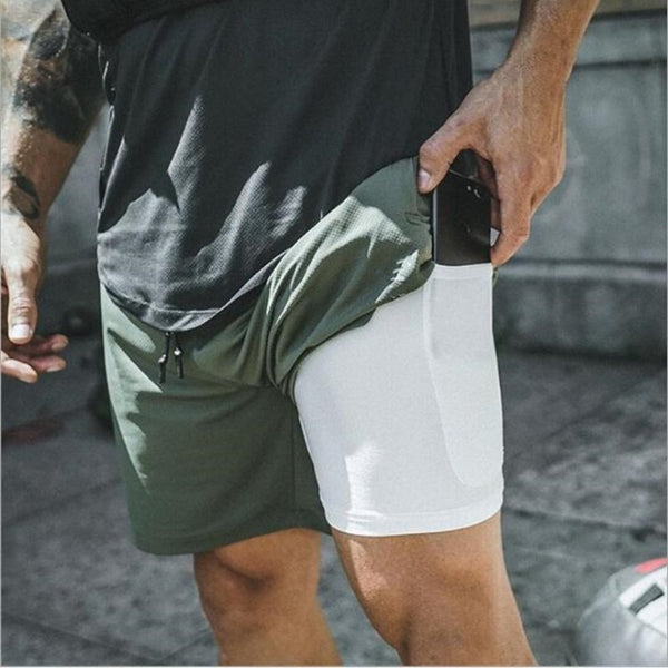 ASRV 2-in-1 Secure Pocket Shorts