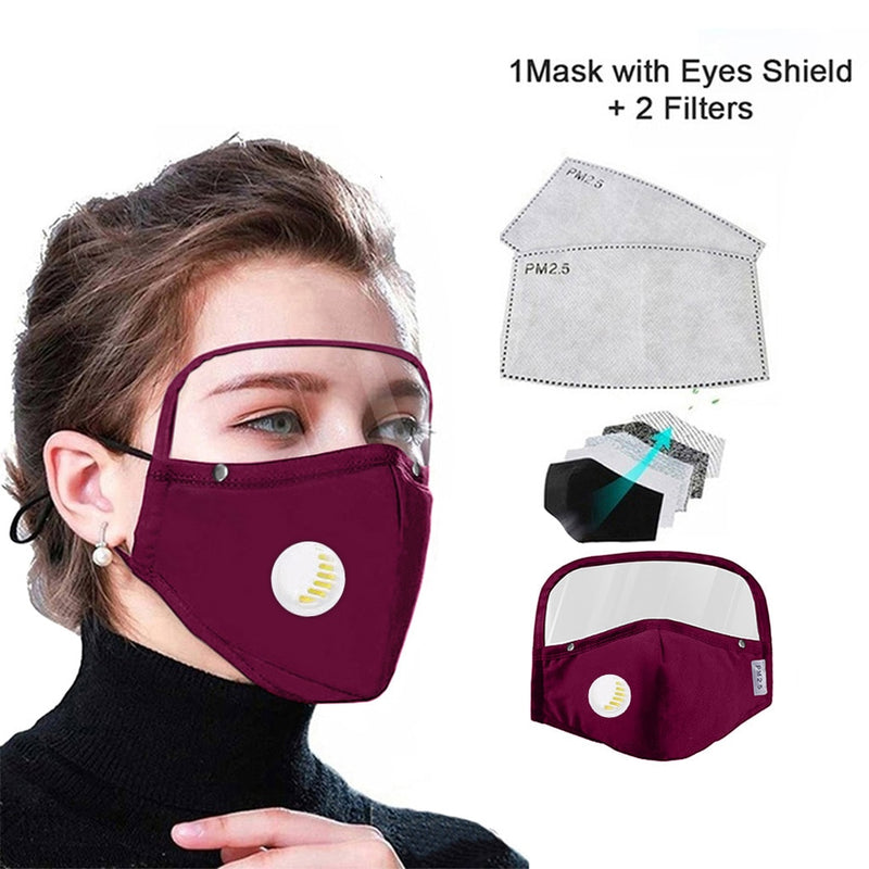 2020 NEW Cotton Mask with eyes Shield[Fast Free Shipping ⭐️⭐️⭐️⭐️⭐️]