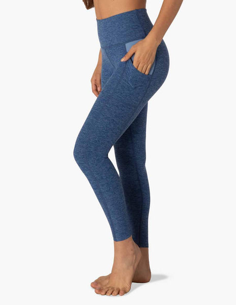 Beyond Yoga In The Mix High Waisted Midi Legging Serene Blue